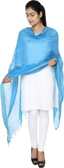 ENCHANTED DRAPES Chanderi Solid Women's Dupatta - DUPE794HYGH9GTDZ