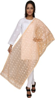 Dupatta Bazaar Net Embroidered Women's Dupatta