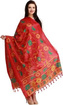 Aksara Art Silk Floral Print Women's Dupatta - DUPEGX47UDQYVUMF