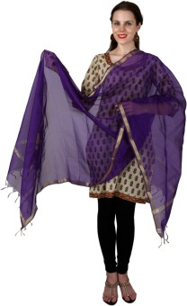 Enchanted Drapes Chanderi Solid Women's Dupatta - DUPE7NJWQVTZGV5U