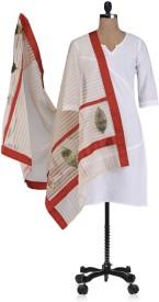 Etoles Chanderi Embellished Women's Dupatta