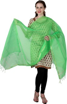 Enchanted Drapes Chanderi Solid Women's Dupatta - DUPE7NJWSCTRPVHS