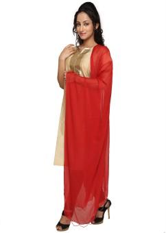Dupatta Bazaar Faux Chiffon Solid Women's Dupatta - DUPE3UKGQ2GYYZFN