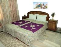 Amita Home Furnishing Queen Cotton Duvet Cover Multicolor, 2 Single Bed Dohar Cum Duvet Cover