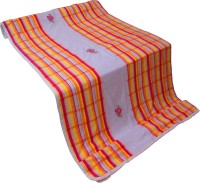Gunjan Creations King Cotton Flat Orange