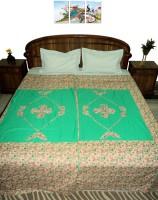 Amita Home Furnishing Queen Cotton Duvet Cover Multicolor, 2 Single Bed Dohar Cum Duvet Cover - DCVE8EGGGWKRRCJG