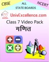 Avdhan CBSE Class 7 Video Pack - Ganit School Course Material - Voucher