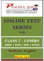 Practice Guru Series For Class 7 - Combo Pack - IMO / NSO / IEO / NCO Online Test - Voucher