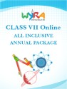 Wyra Class 7 - Online All Inclusive Annual Package School Course Material - Voucher