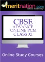 Meritnation CBSE - Advance Online PCM (Class 11) School Course Material - Voucher