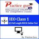 Practice Guru IEO Class 1 - 05 Full Length MOCK Online Test - Voucher