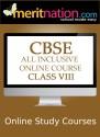 Meritnation CBSE - All Inclusive Online Course (Class 8) School Course Material - Voucher