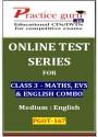 Practice Guru Series For Class 3 - Maths, EVS & English Combo Online Test - Voucher