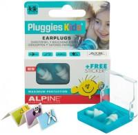 Alpine Pluggies Kids Ear Plug (Blue, White)