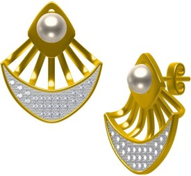 twisha rjtp-47 Brass Earring Set