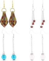 Beadworks Fusion Glass Glass Earring Set - ERGEG3DKNEYHN3HH