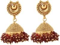 Itzmyfashion Gold Color Jhumka Alloy Jhumki Earring