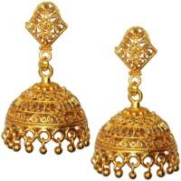 Beingwomen Vidya Balan Inspired Brass Jhumki Earring