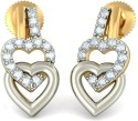 BlueStone The Art Of Loves Yellow Gold Stud Earring - ERGDTSHBXVT2WUJY