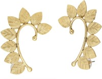The Jewelbox Leaf Ear Cuff Pair Copper Cuff Earring