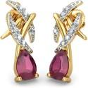BlueStone The Aspira Gold Stud Earring