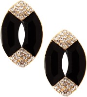 20Dresses Magic In The Black Zircon Metal Stud Earring