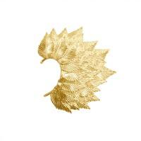 Simaya Fashion FE0318NEW Alloy Yellow Gold Cuff Earring