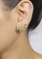 Muchmore Fashion Earring Jade Alloy Cuff Earring