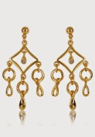 Estelle 429/723 ER SMP BG Alloy Drop Earring
