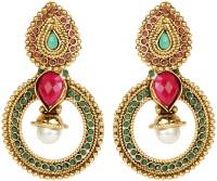 Ethnic Jewels Alloy Yellow Gold Dangle Earring