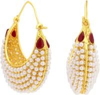 Sukkhi Ravishing Gold Plated Alloy Hoop Earring