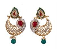 R18Jewels-Fashion&U Royal Rajwadi Princess Metal Chandbali Earring