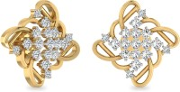 WearYourShine By PCJ The Anai 18 K Diamond Gold Stud Earring