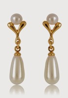 Estelle 301/712 ER SMP BG WHITE PEARL Alloy Drop Earring