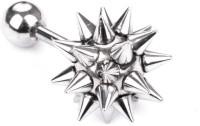 Vaishnavi First Quality Korean Made Non-Allergic Spike Design 316L Stainless Steel Stud Earring