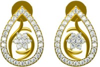 Sakshi Jewels The Nene 18K Yellow Gold Plated 18 K Diamond Gold Dangle Earring