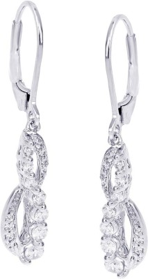 Lucera Lucera Zircon Silver Clip-On Earring