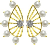 Fashion Frill Most Popular Adorable Pearl Alloy Cuff Earring