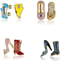 Juvalia Shoe Addict Metal Earring Set: Earring