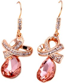 Intentions Cubic Zirconia Alloy Dangle Earring