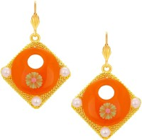 Sukkhi Classy Gold Plated Alloy Drop Earring