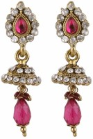 SP Jewellery Rhodium Plated Alloy Drop Earring - ERGEY6NKHH6F6ZHX