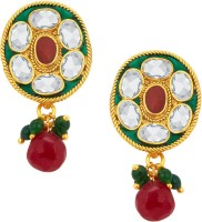 Sukkhi Exquisite Gold Plated American Diamond Alloy Drop Earring