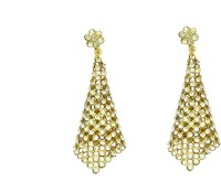 Itz About U Style Diva Alloy Drop Earring