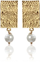 Zaveri Pearls Exclusive Traditional Bollywood Alloy Brass Drop Earring