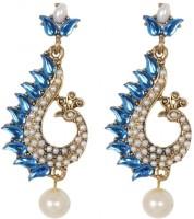 SP Jewellery 8K Yellow Gold K Pearl Alloy Stud Earring