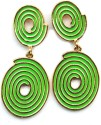 Maayra Maayra Lovely Green Maayra Earrings Alloy Drop Earring