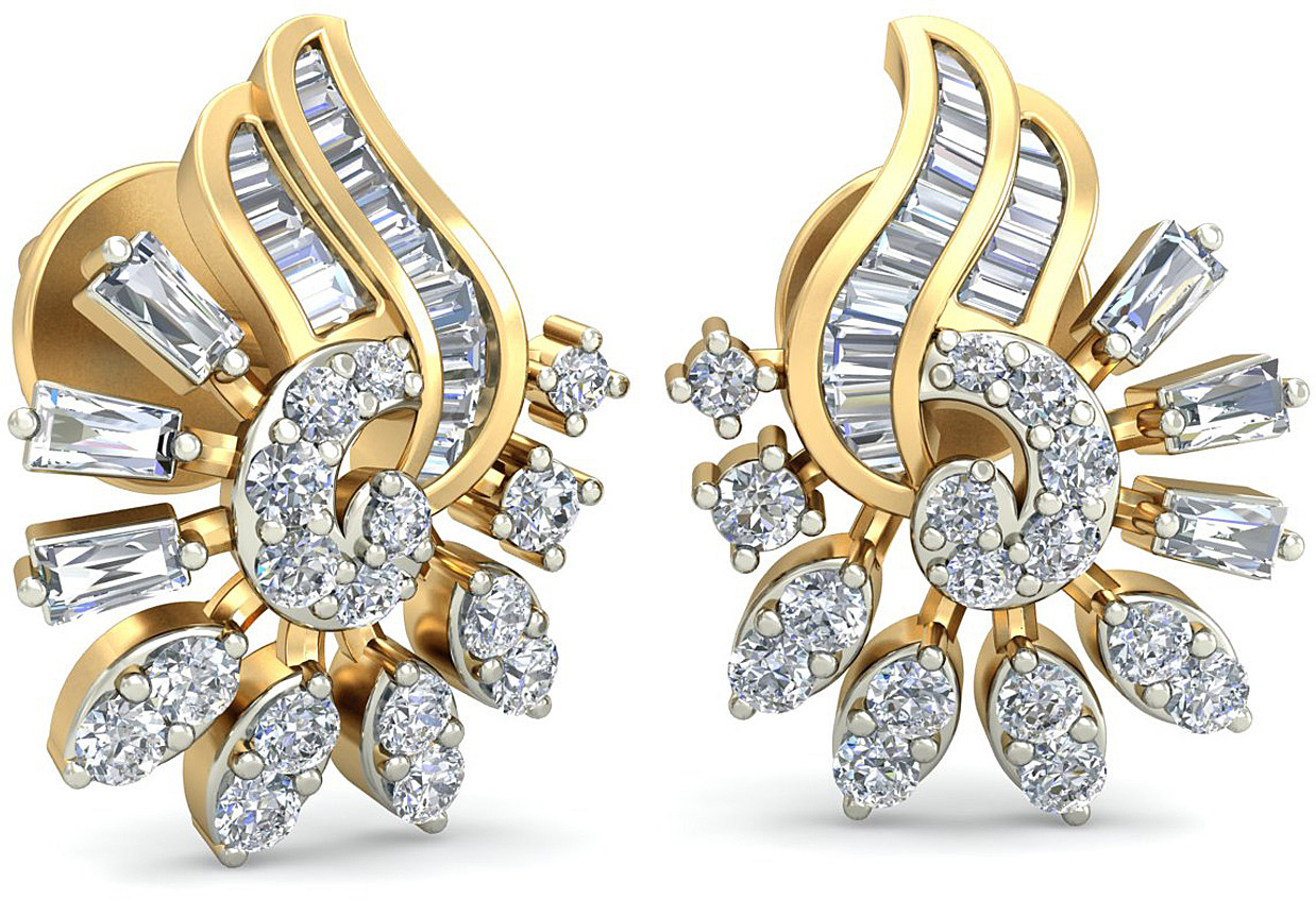 Wearyourshine By Pcj The Adalia Diamond 18 K Diamond Gold