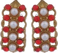 Swaraa Long Metal Stud Earring
