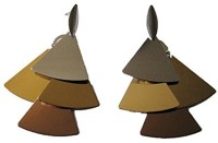 Sans India Metallic Multicolor Fashion Metal Drop Earring